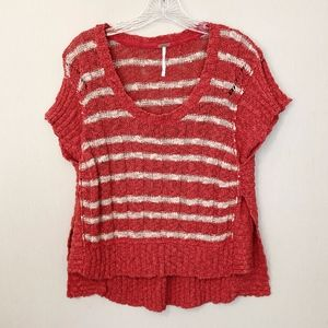 Free People Lightweight Cotton Sweater - Size S